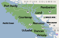 Our British Columbia Service Area